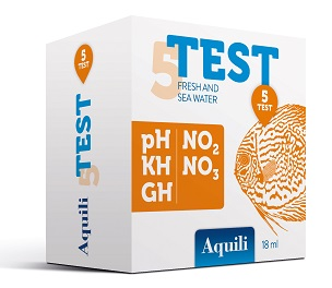 test 5 in 1 pH – GH – KH – NO2 - NO3